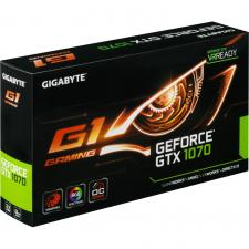 Видеокарта GIGABYTE GeForce GTX 1070 8Gb G1 Gaming (GV-N1070G1 GAMING-8GD)