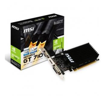 Видеокарта MSI GeForce GT710 2Gb (GT 710 2GD3H LP)