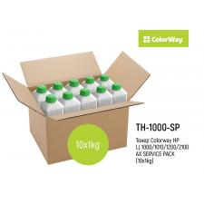 Тонер ColorWay HP LJ 1000/1010/1200/2100/AX SERVICE PACK (10x1кг)