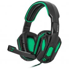 Наушники Defender Warhead G-275 Green/Black (64122)
